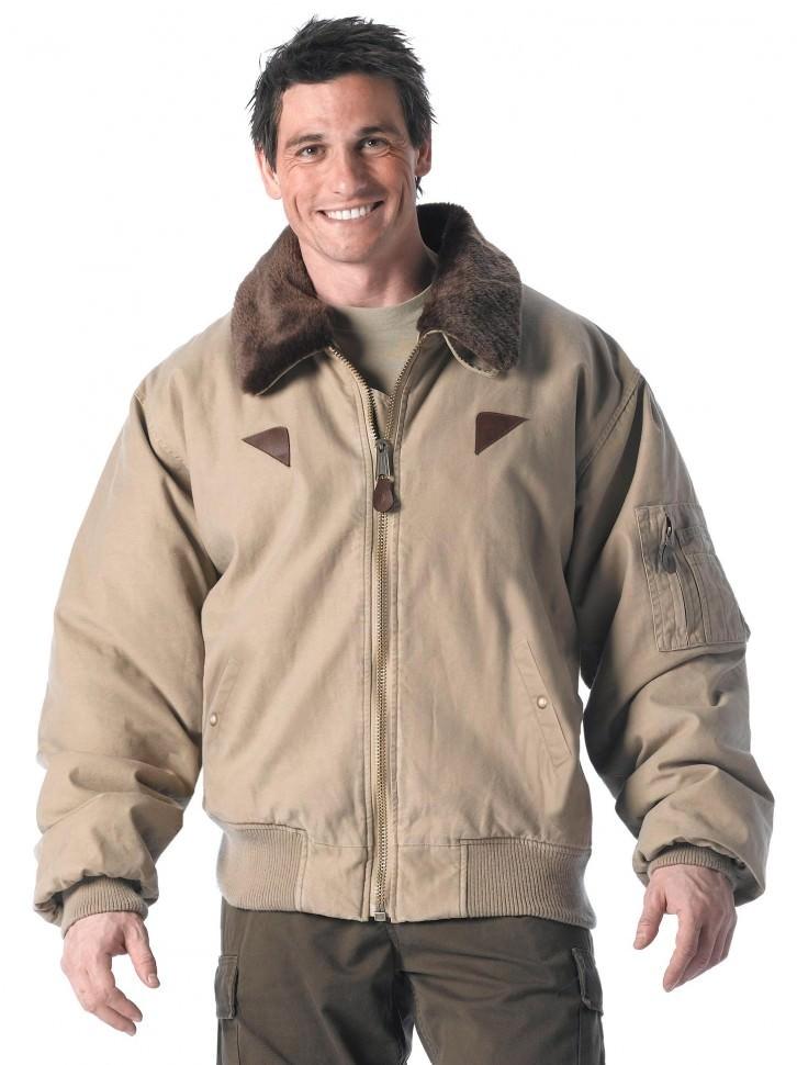 Винтажная куртка-бомбер Rothco Vintage B-15A Bomber Jacket