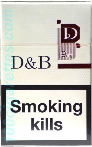 Продам оптом сигареты  D&B