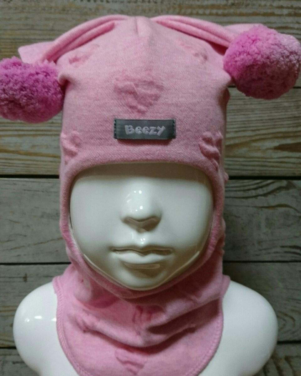Шапки-шлемы от ТМ Beezy деми мод. Сердце