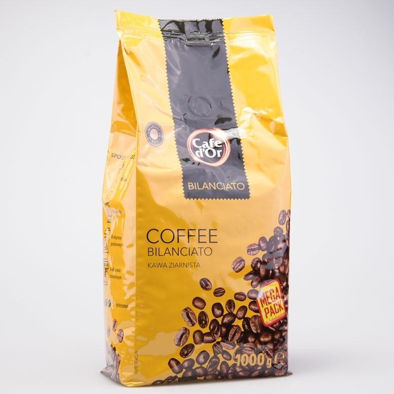 Кофе польское в зернах 1 кг. ( Bilanciato)