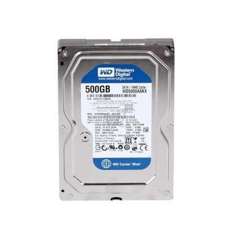 Жесткий диск Western Digital Blue 500GB 7200rpm 16MB 3.5 SATAIII (WD50