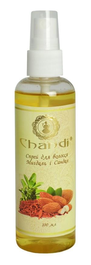 """Спрей для волос """"Миндаль и Сандал"""" Chandi, 100мл"""