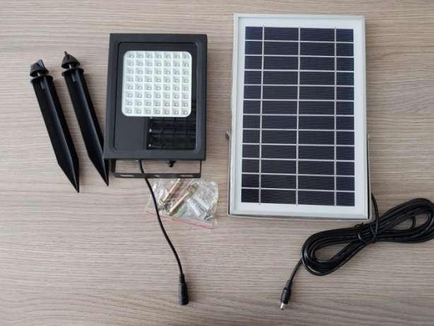 LED- ФОНАРЬ автономный на солнечной батарее ВОДОНЕПРОНИЦАЕМЫЙ !!