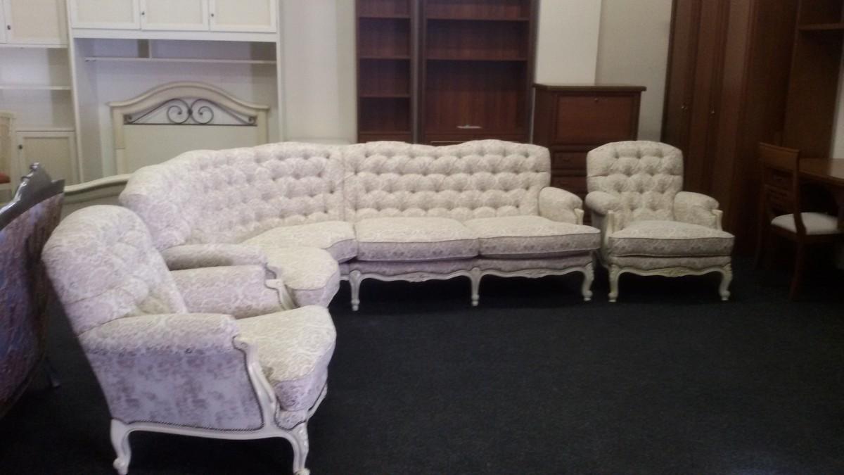Уголок и два кресла Людовик