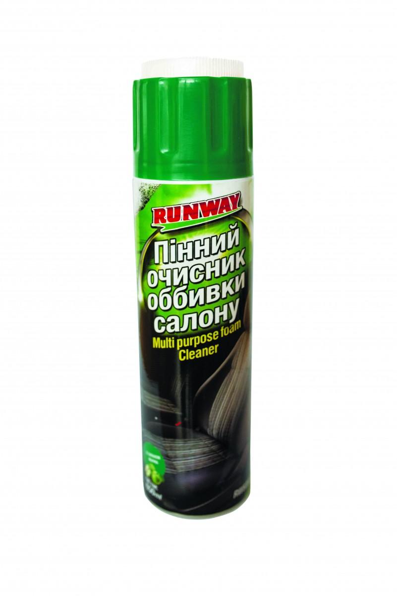 Пенный очиститель обивки салона Runway RW6083 650мл аэрозоль