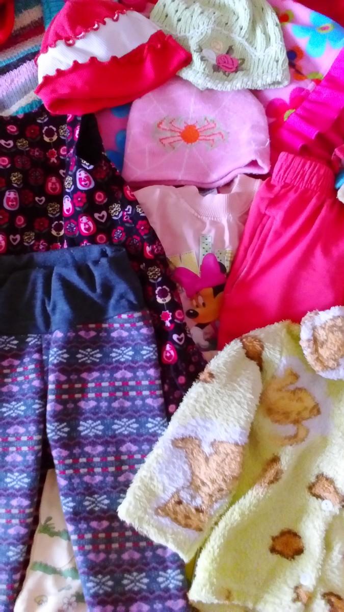 Пакет одежды (зимняя, осенняя) для девочки до 2,5лет