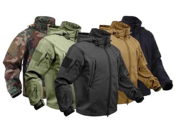 Softshell тактические куртки Special Ops Rothco.