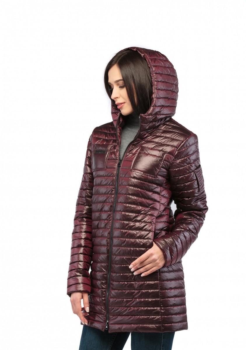Куртка из стеганой плащевки утепленная - опт и розница
