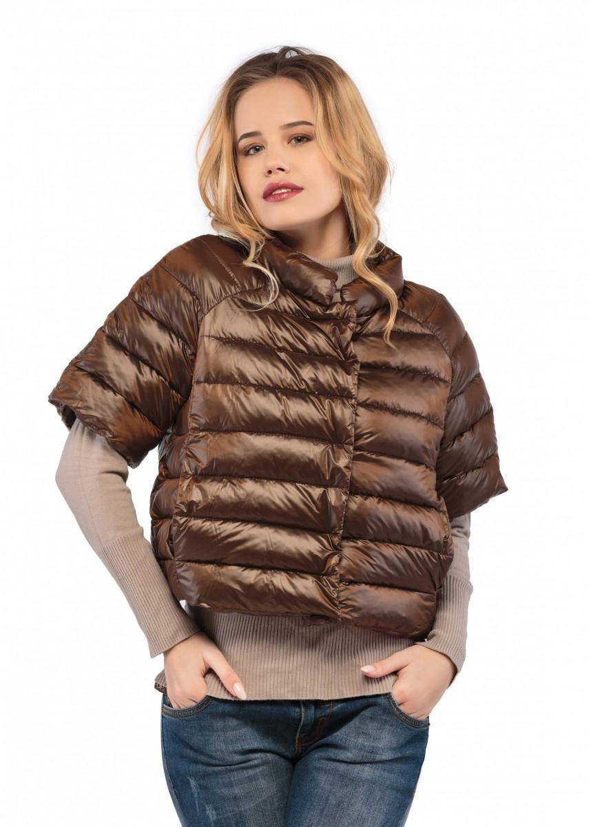 Маленькая элегантная курточка с утеплителем! - хит сезона!