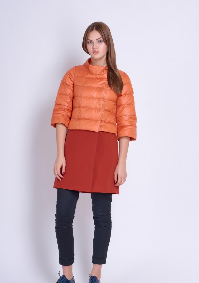 Эксклюзивная куртка-пальто из италиан.плащевки и кашемира - хит сезона
