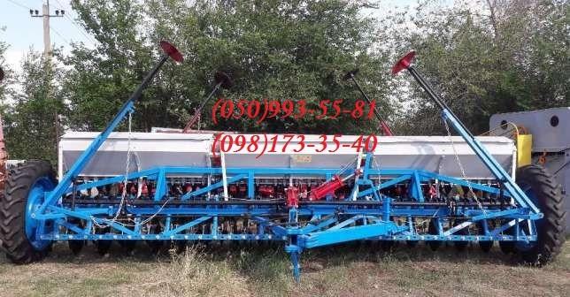 Сеялка зерновая дисковая СЗ-5,4 капремонт.