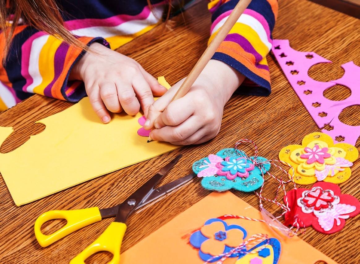 Творческий досуг, рукоделие для детей