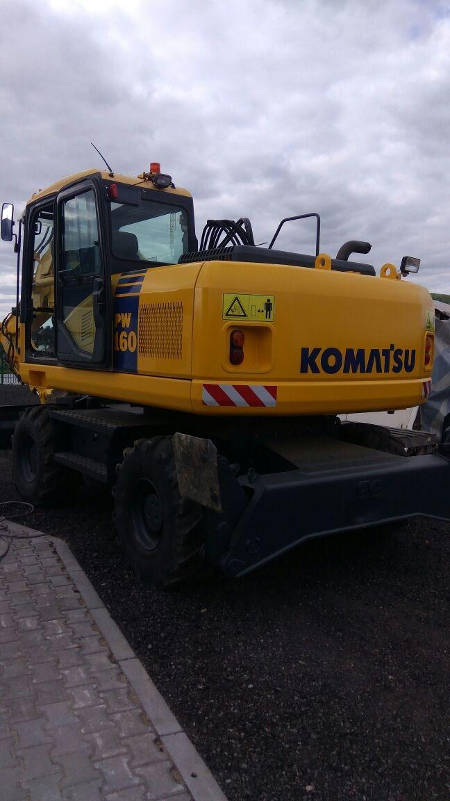 Продажа колесного  экскаватора  Komatsu PW160-7