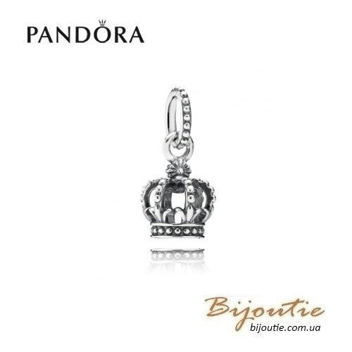 PANDORA Шарм-подвеска ― корона 791376 оригинал