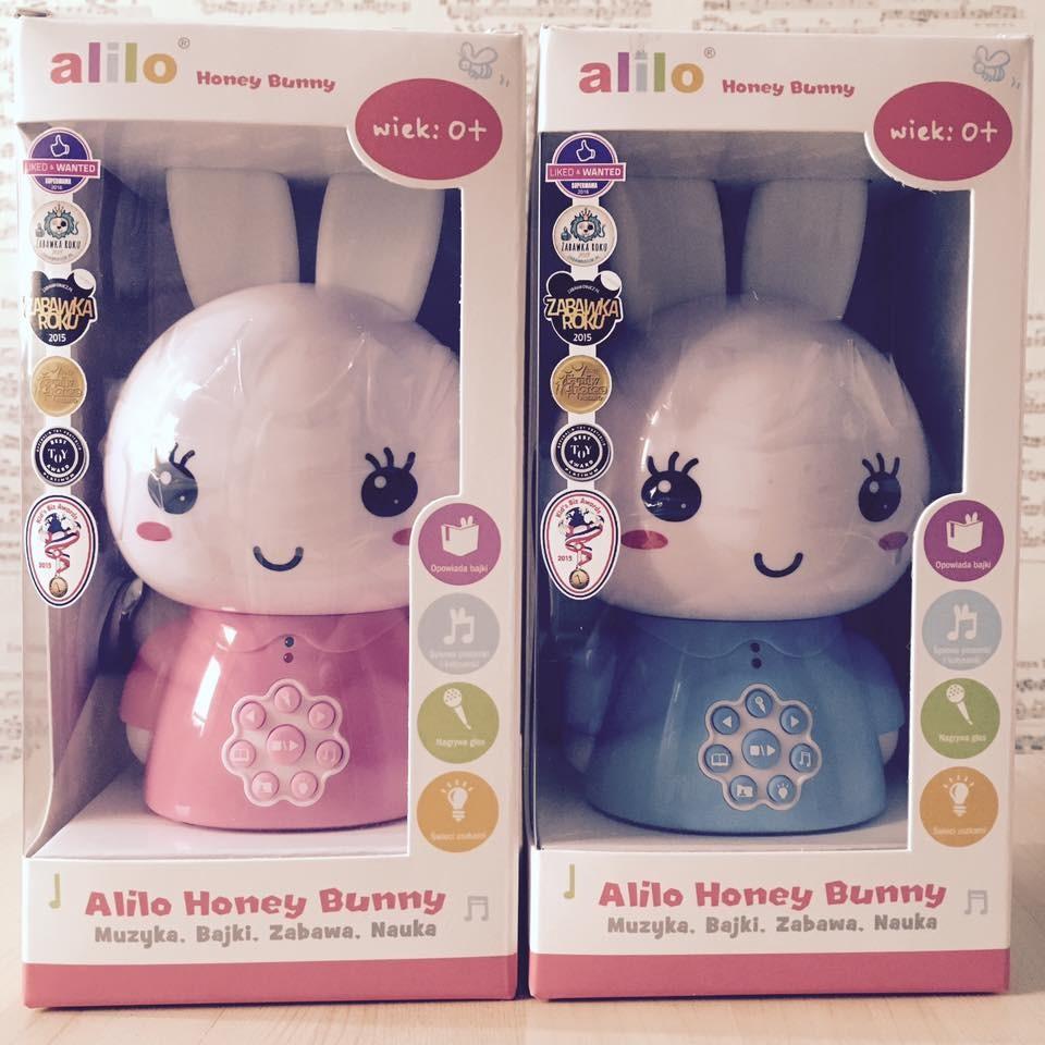 Интерактивная игрушка заяц Alilo