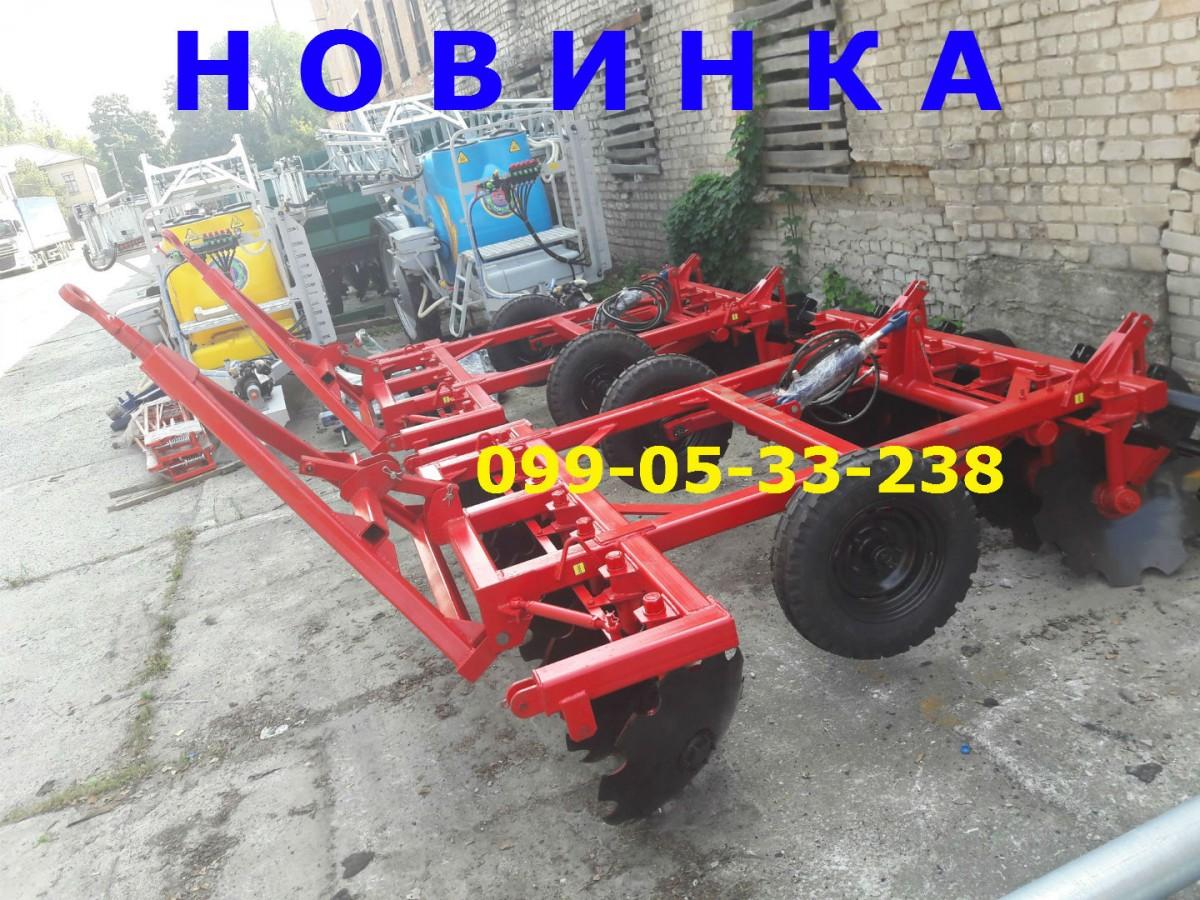 ХИТ БДП 2.5х2 прицепная борона-поддержите украинского производителя