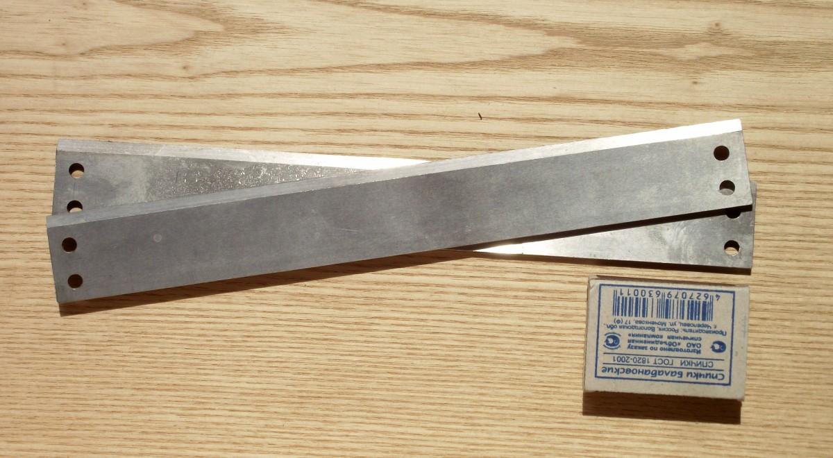Ножи (лезвия) для электрофуганка (электрорубанка)