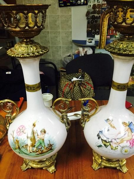 Куплю статуэтки, вазы и другие высокохудожественные, довоенные изделия