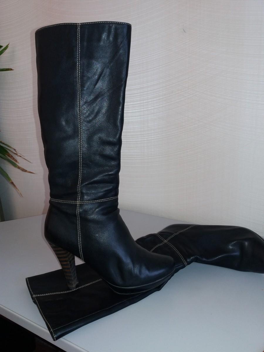 83e6e830de288a Женские сапоги размер 24,5-25: 600 грн - Мода и стиль / Одежда ...