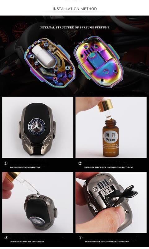 Брендовые автомобильные натуральные ароматизаторы