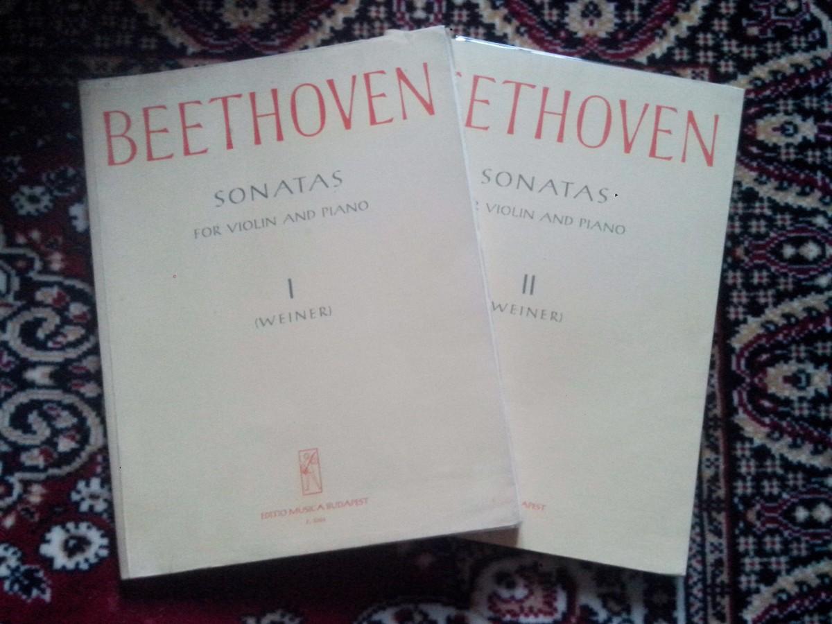 Бетховен Л.В. Сонати для скрипки і фортепіано (2 томи)