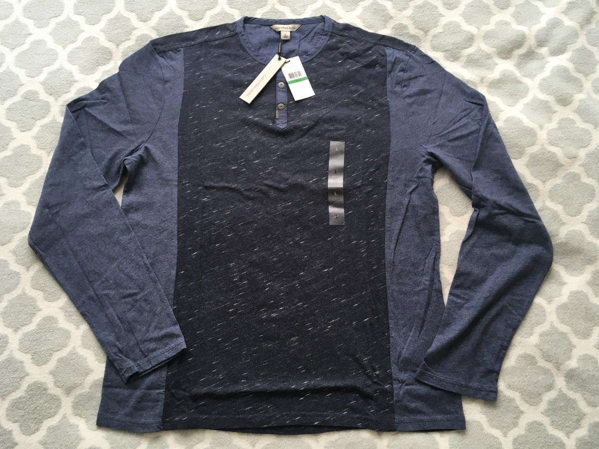 Мужская футболка Calvin Klein Jeans ( оригинал ) размер L.