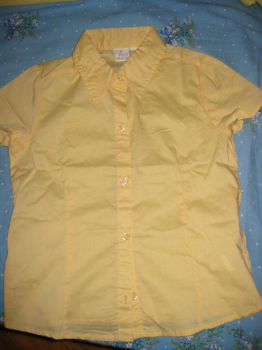 продам рубашку школьную для девочки