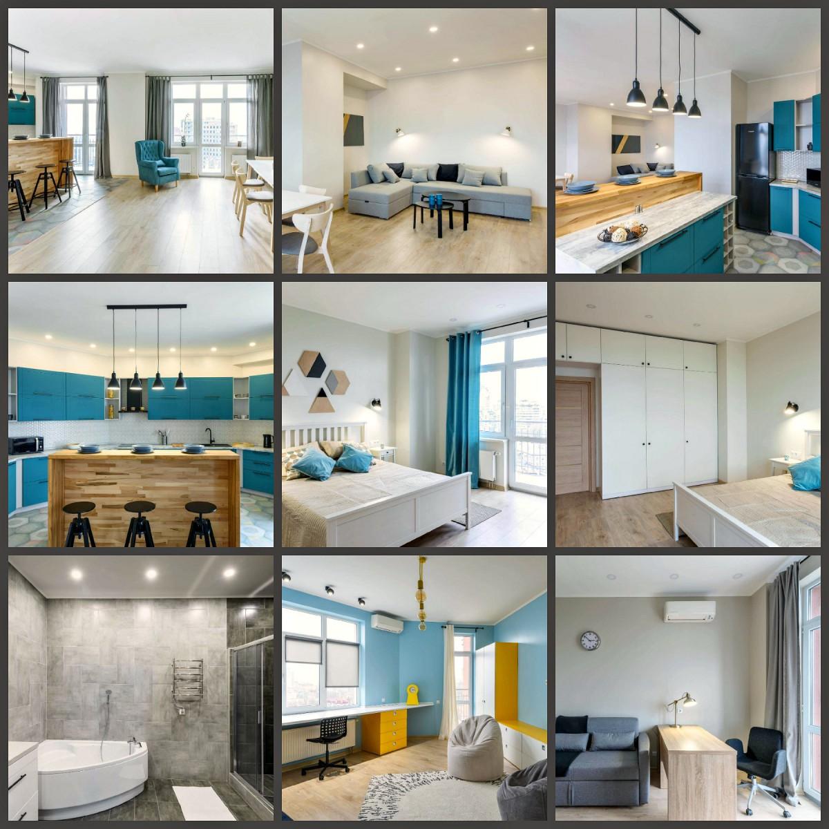 Без комиссии Продам, сдам 4 комн кварт 18 этаж 174м2, Тургеневская 44