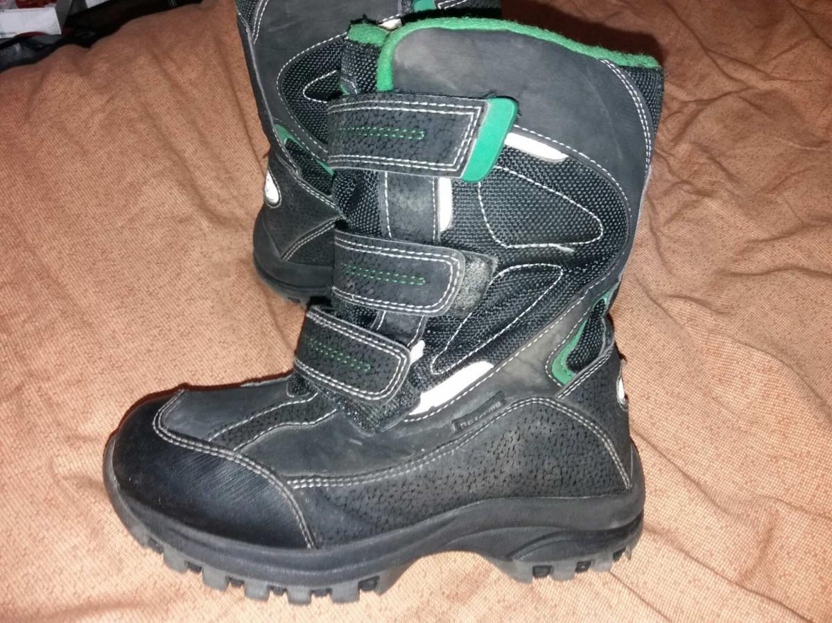 5b165ac5 Сапоги 39-40 размер по стельке 25-26 см кожа на каблуке осень-зима 3 ш