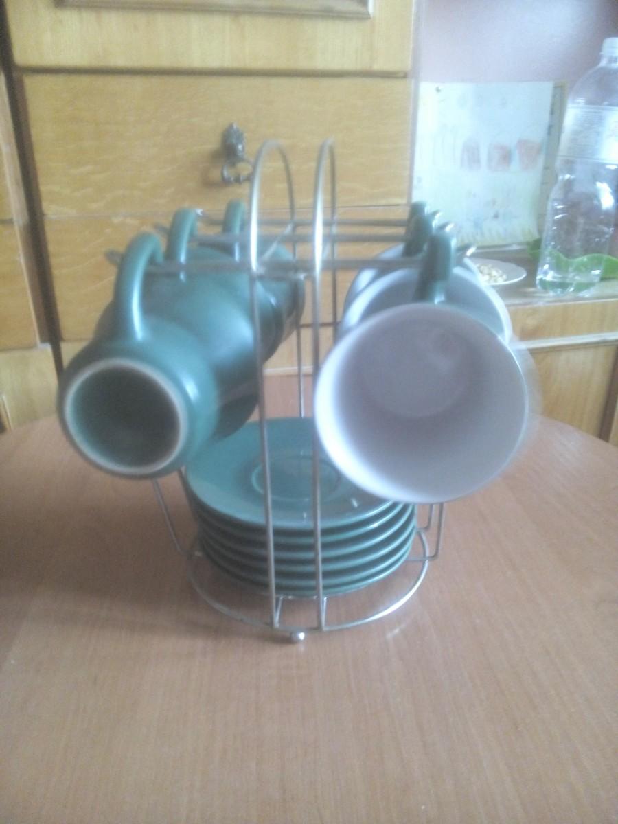 Набор чашек с блюдцами Якобс