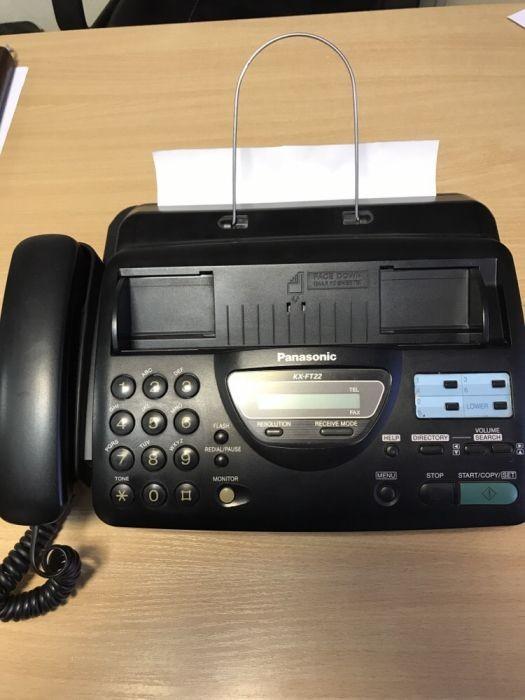 Факс Panasonic KX-FT22 в 100% рабочем состоянии
