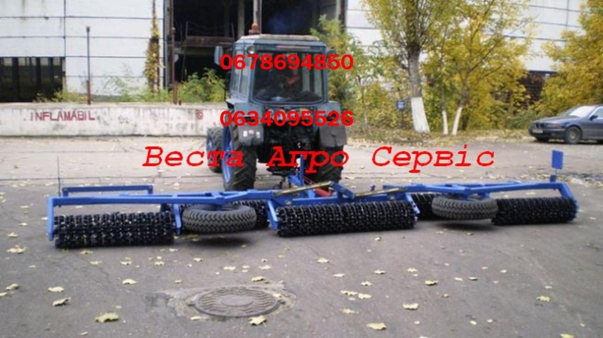 Каток кольчато-шпоровой гидрофицированный ККШ-9,2Г.