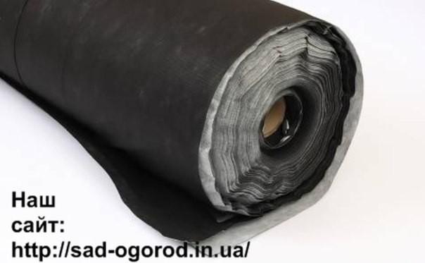 Агроволокно черно-белое 50 ширина 3,2м - рулон 100м