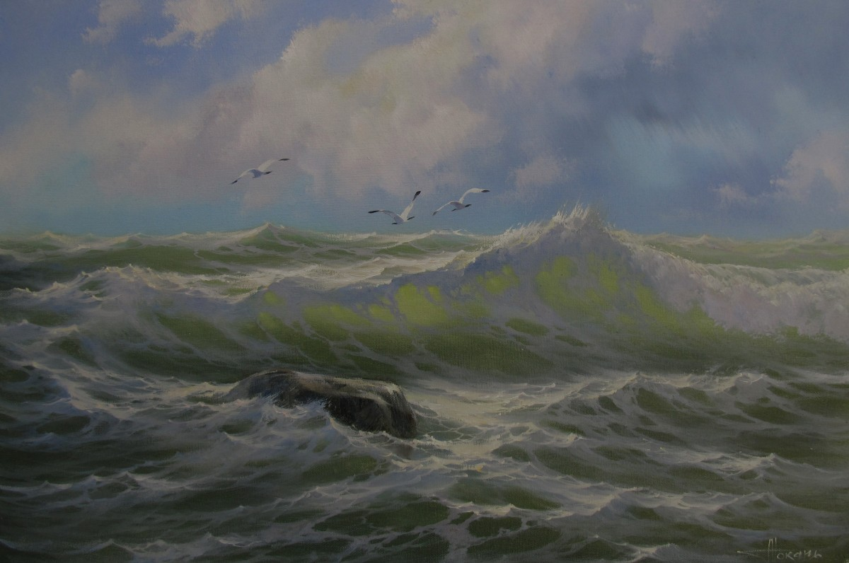 Картины на морскую тематику