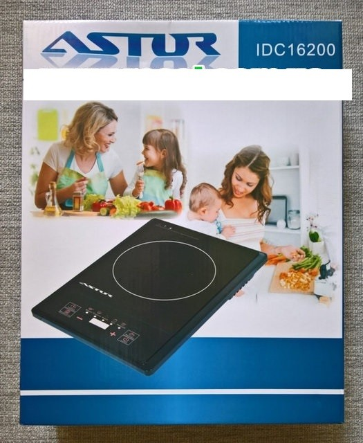 Индукциoннaя настольная плитa Astor IDC-16200