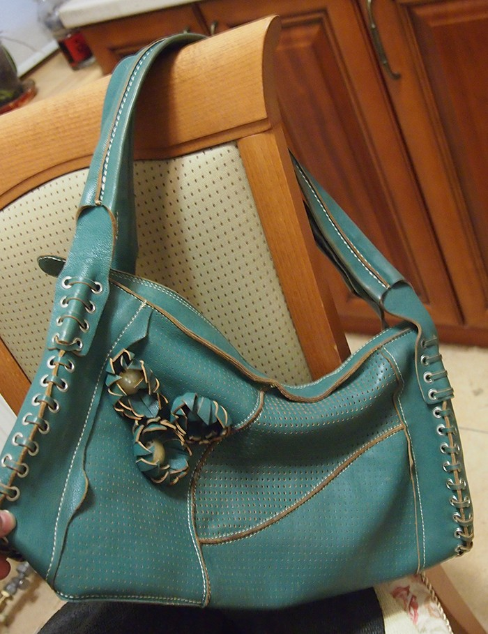 Женские сумки из натуральной кожи зеленого цвета