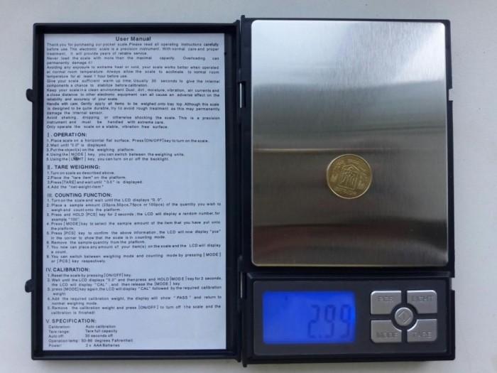 Весы ювелирные, высокоточные в чехле,от 0.01 до 500г