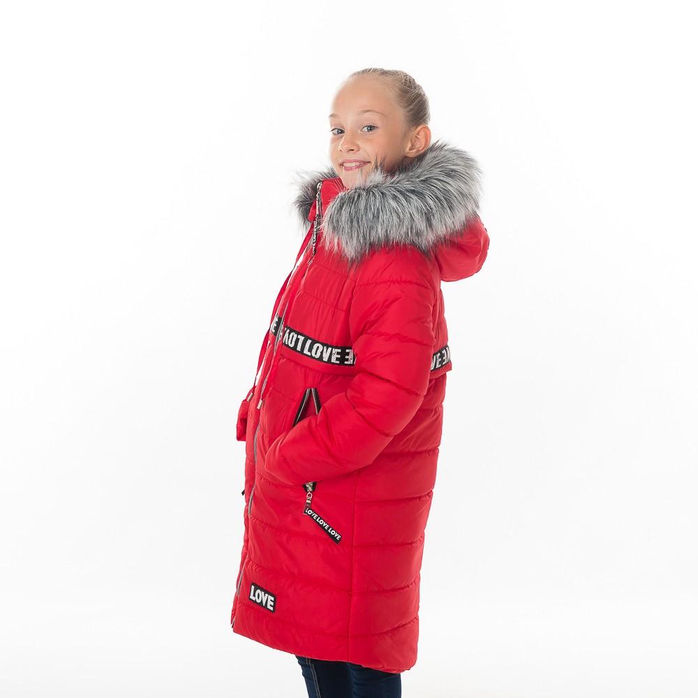 """Зимнее пальто для девочки """"Зара"""""""