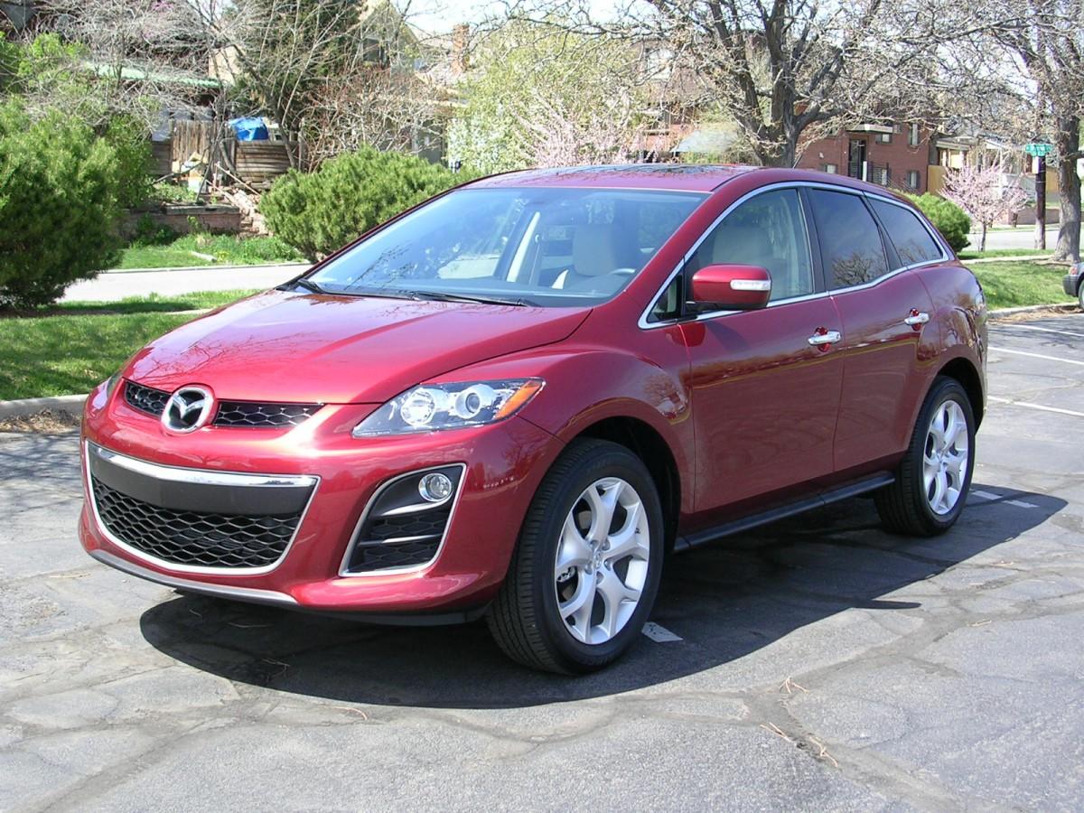 Mazda cx 7 капот бампер фара зеркало стоп двери запчасти розборка