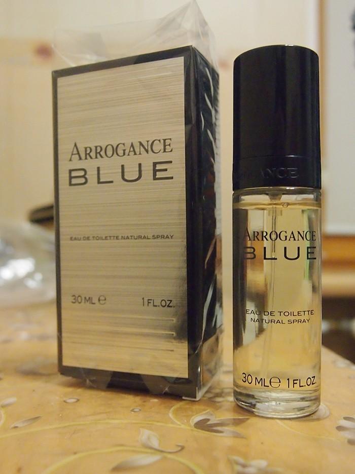 edt Arrogance Blue 30 ml туалетная вода