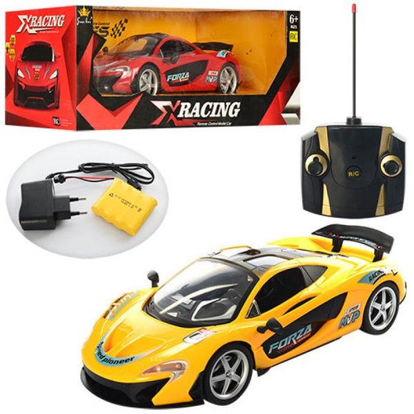 Машинка гоночная McLaren  радиоуправляемая, на аккумуляторе.