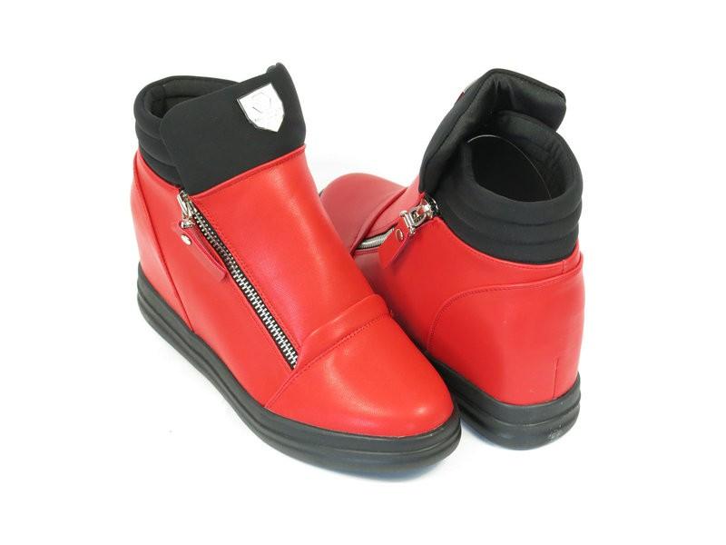 Ботинки - красные стильные сникерсы - прямой поставщик лучшая цена!