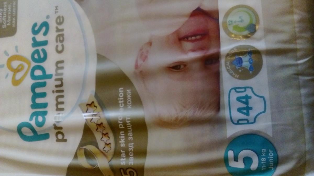 Памперсы, подгузники Pampers premium care 5 (44штук)
