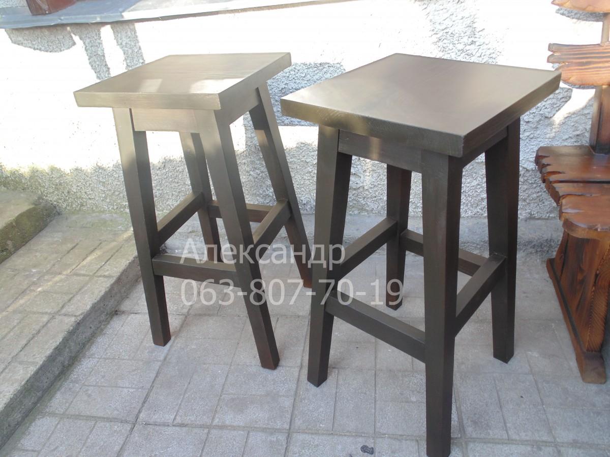 Барный стул №2 ( барные стулья, табуреты ) из дерева