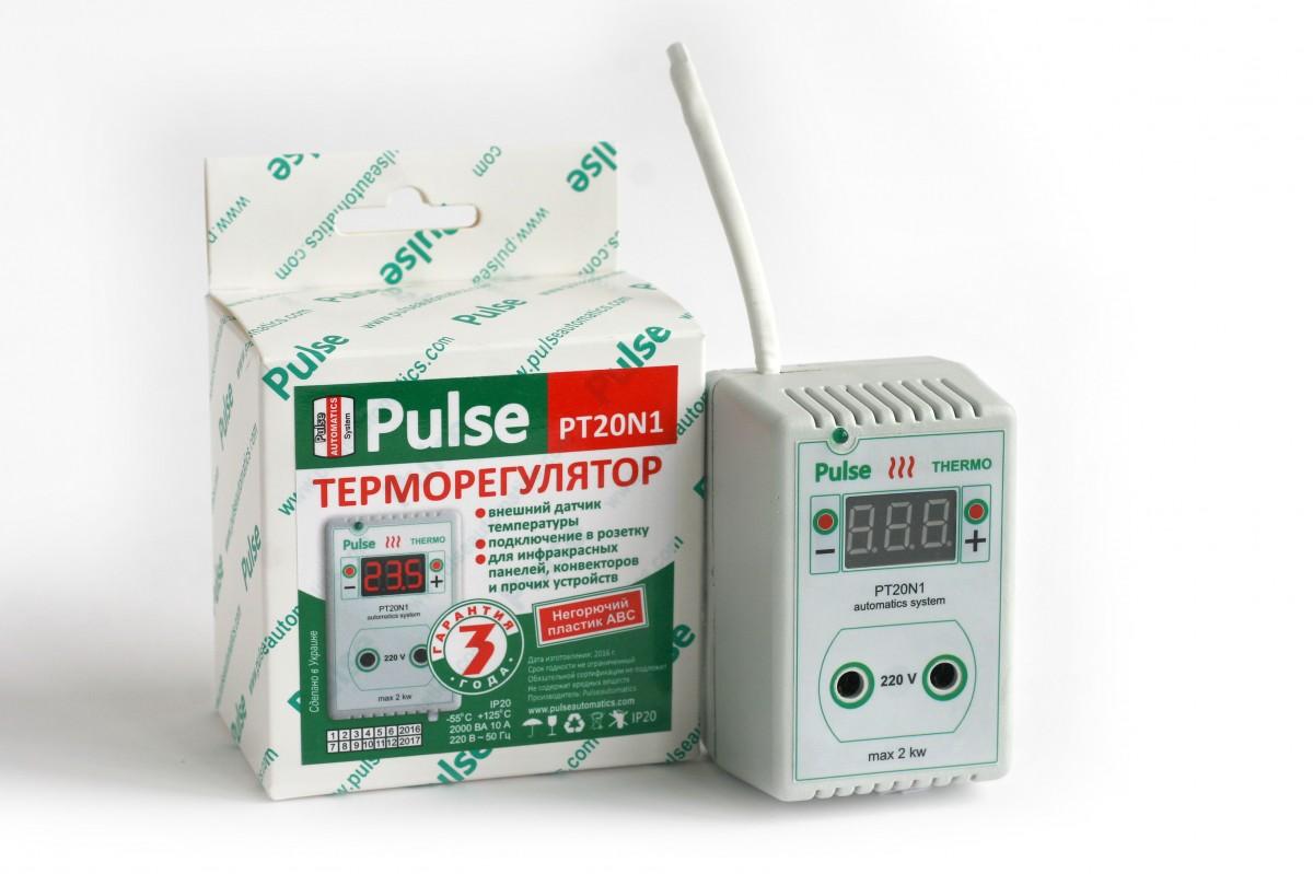 Терморегулятор Pulse N1/N2, 2кВт
