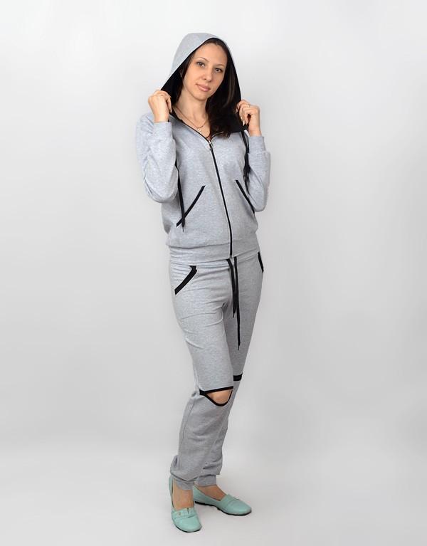 Женский спортивный костюм с карманами СК 217