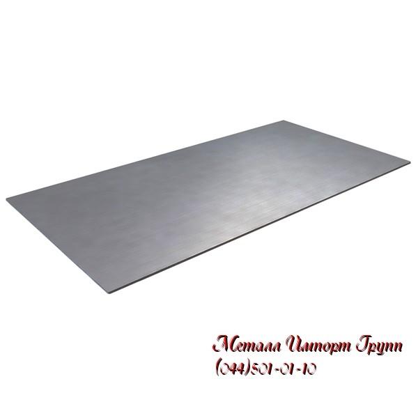 Лист стальной размером 50х2000х6000 мм сталь 40Х