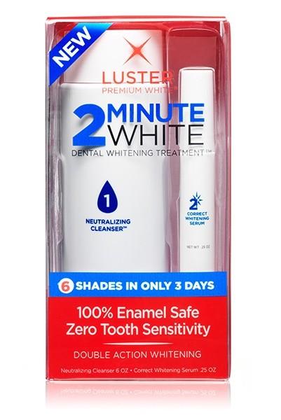 Система для отбеливания зубов, двойного действия