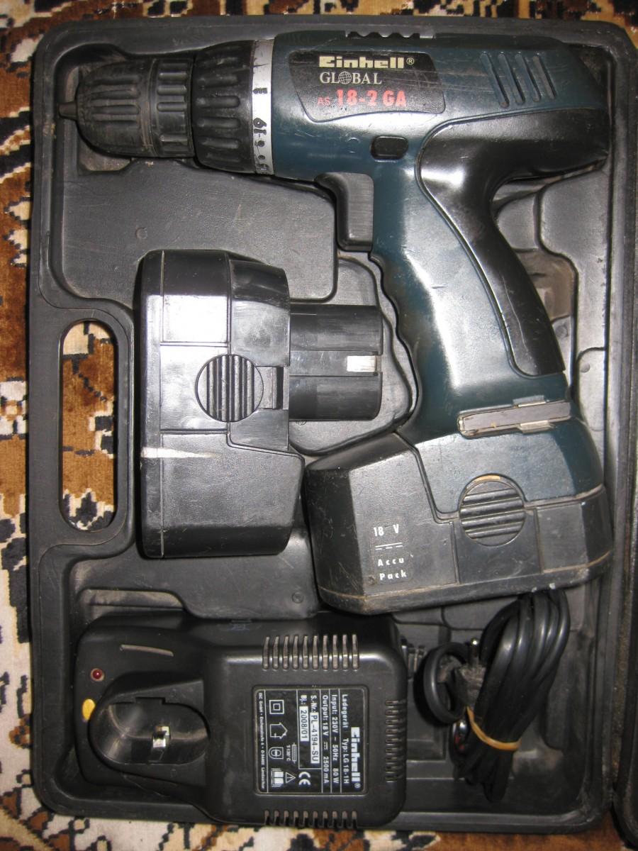 Шуруповерт EINHELL Pro AS 18-2GA-компл.