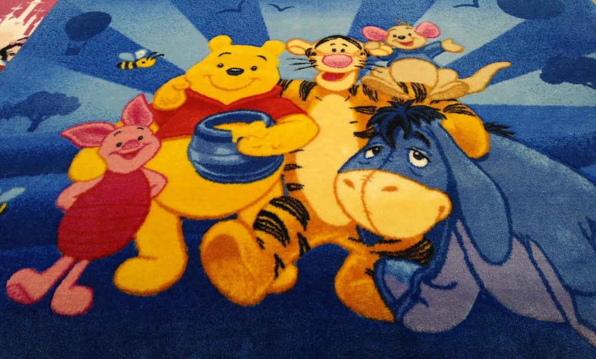 Детский ковёр Disney 1,33 х 1,90 см б/у